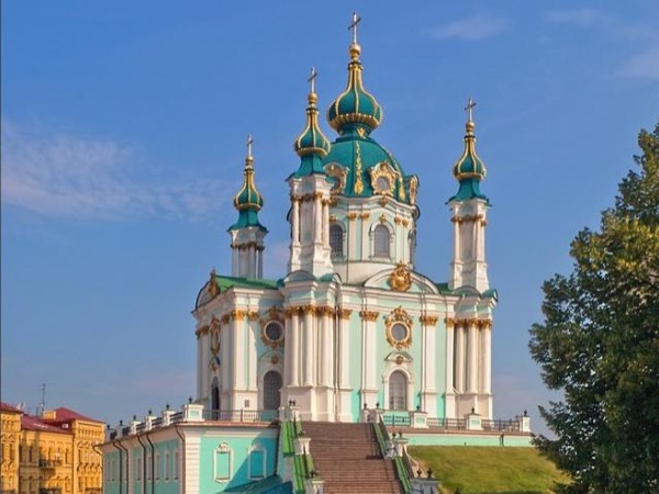 Loop tour over Kiev