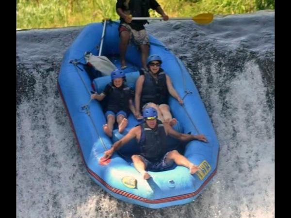 White water rafting and Sunset private Tour