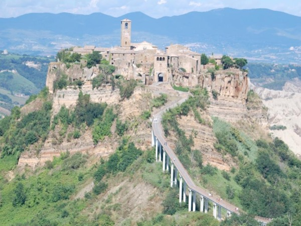 Orvieto and Civita di Bagnoregio: from Civitavecchia or from Rome by car