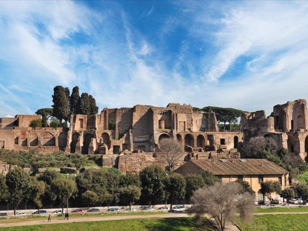 Super visit to the hidden and usually not visited treasures of the Palatine Hill and Roman Forum