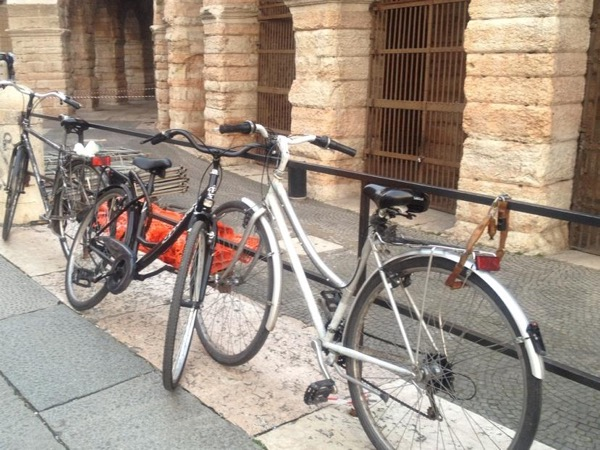 Verona on two wheels with registered LOCAL guide