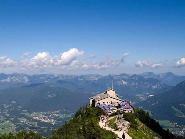 The Eagle's Nest, Golling Waterfalls and 'The Where Eagles Dare Castle' of Werfen