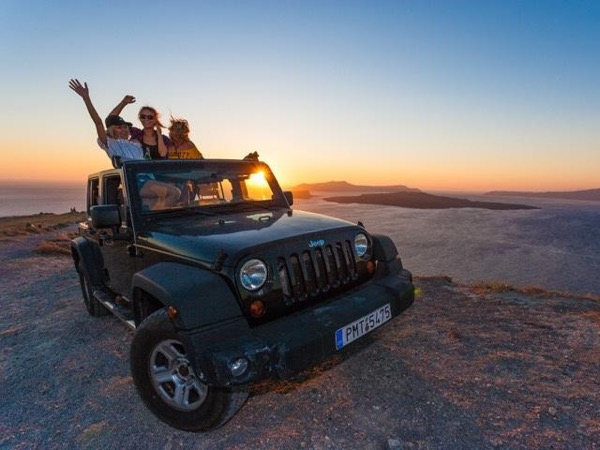 Cycladic Island Open Top Jeep Private Tour