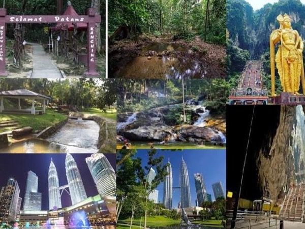 Port Klang to Kuala Lumpur -Shore Excursions- Eco Forest Park/Waterfall /Culture/Heritage