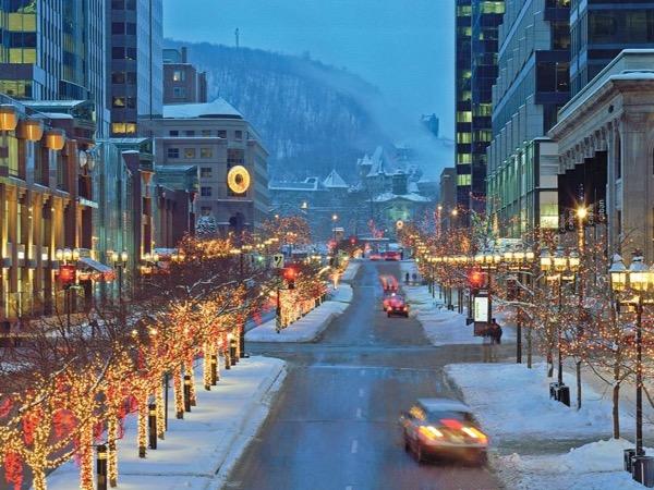 Montréal for the holidays