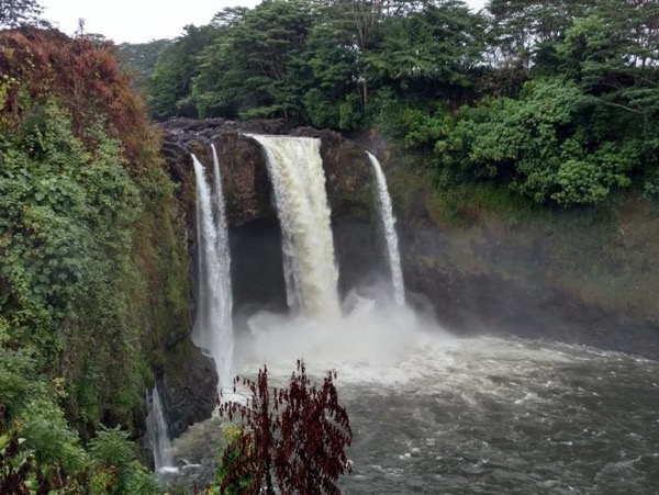 From Hilo side: Waterfalls Private Scenic Tour