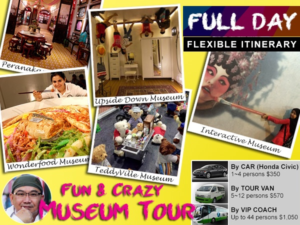 Fun & Crazy Museums in Penang