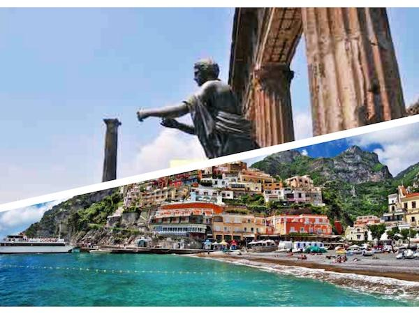 Tour from Pompeii to Sorrento and Positano on the Amalfi Coast