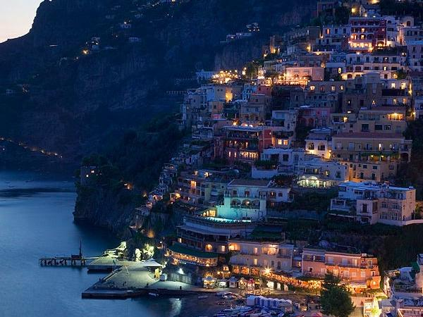 Private tour from Sorrento to Positano by night with dinner or without dinner