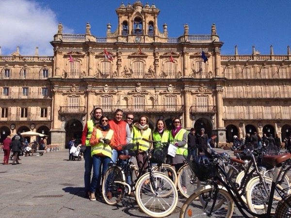 Bike City tour Salamanca