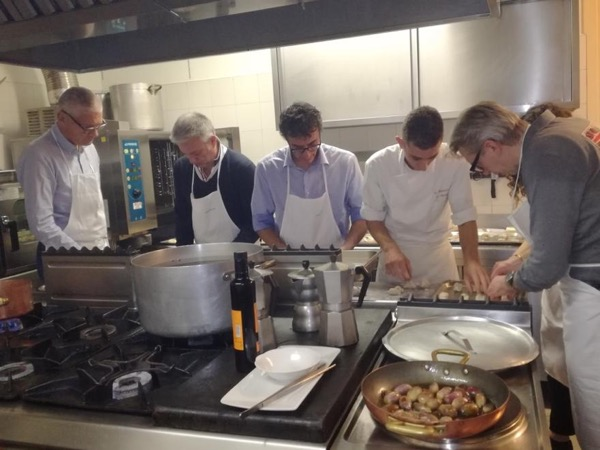 Let's cook! Learn all the secrets of a real Italian chef