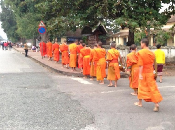 Tour around Luang Prabang