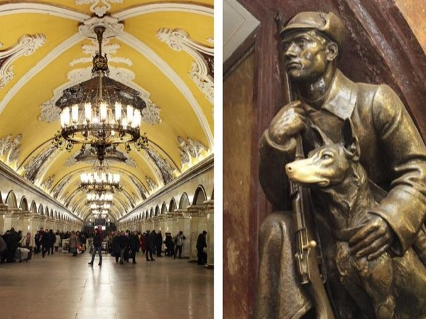 The best of Moscow Metro private tour