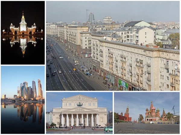 All Moscow by car in 6 hours private tour