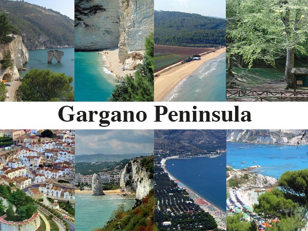 Gargano peninsula (and Tremiti Islands)