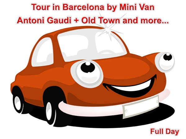 8 Hours - Gaudí + Gothic Quarter and more..