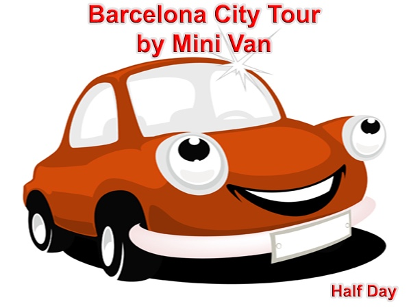 Highlights of Barcelona with Transport