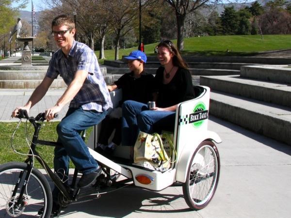 Temple Square - Pedicab tour