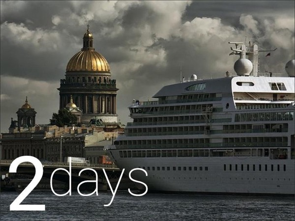 2 day Active Shore Excursion Private Tour of St Petersburg