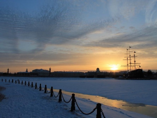 Discover the Winter Russia! Private tour of St-Petersburg