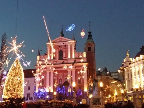 The Advent romance in Ljubljana - a private guided tour