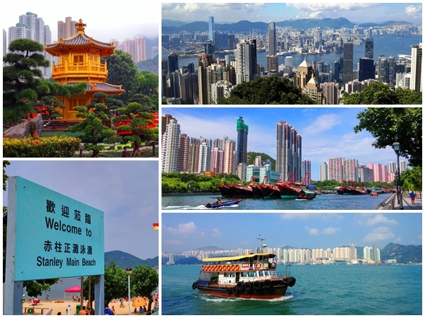 Hong Kong Island Kowloon full day private car tour