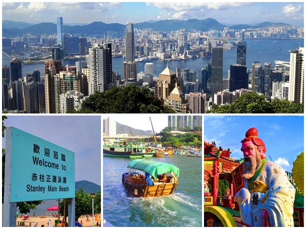 Hong Kong Island Highlights private car tour