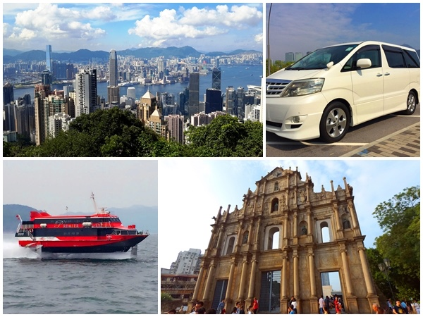 Hong Kong Macau highlights full day private car tour