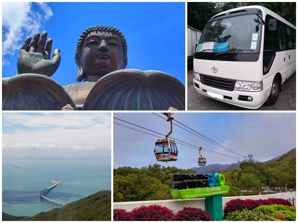 Lantau Big Buddha private bus tour