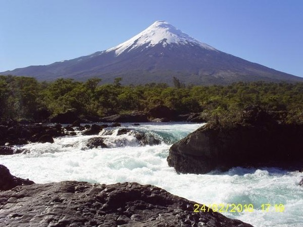 Shore Excursion. Osorno volcano and Petrohue falls