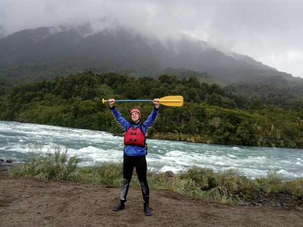 Shore excursion -Rafting in Patagonia