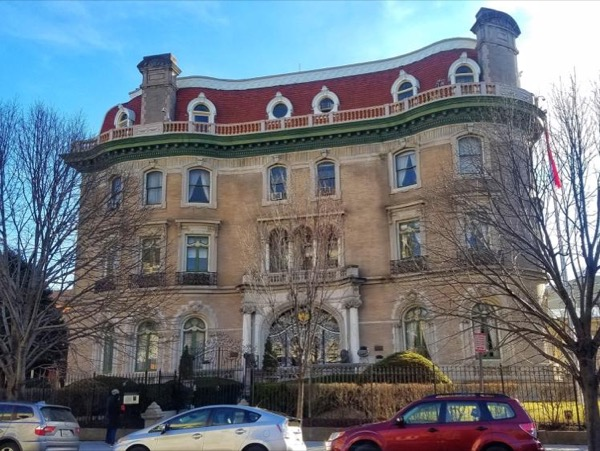 From Millionaires' Row to Embassy Row