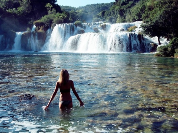 Krka waterfalls National Park & Split city tour