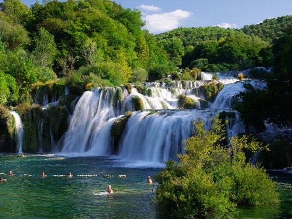 From Šibenik: Krka National Park & Šibenik city private tour