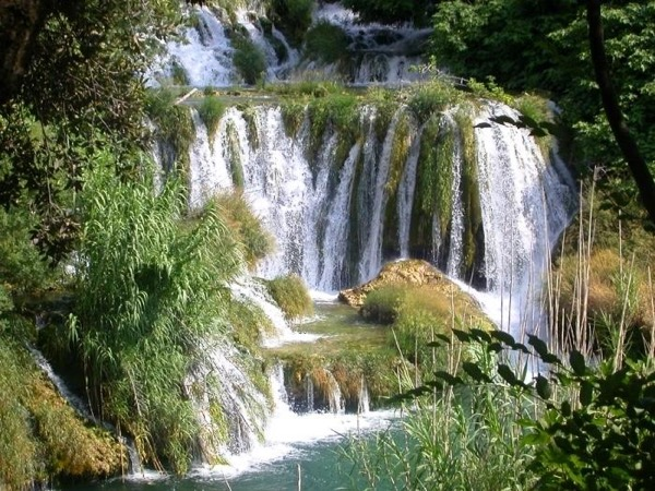 From Zadar: Krka National Park & Šibenik city private tour