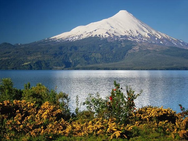 Around Llanquihue Lake — Osorno Volcano, Petrohue Waterfalls, Puerto Octay, Frutillar, Llanquihue, and others