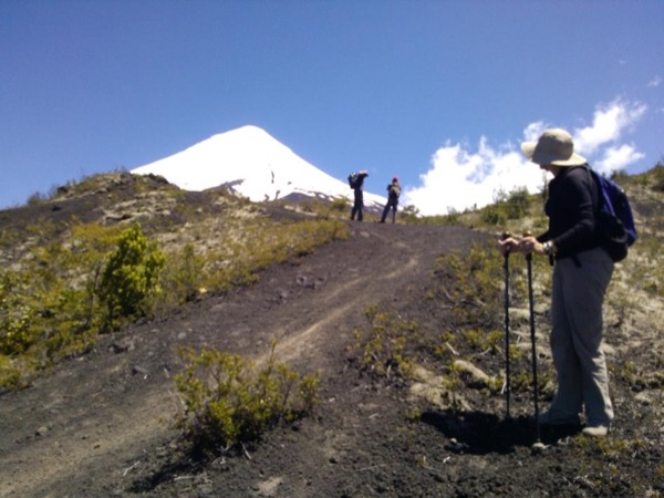 Trekking excursion Osorno Volcano La Picada — Desolation Pass