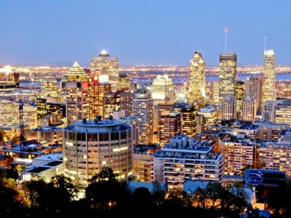 Montreal Step on Guide for Tours by Motor Coach, Sprinter,Limousine, Sedan, SUV with a Driver with Ruby