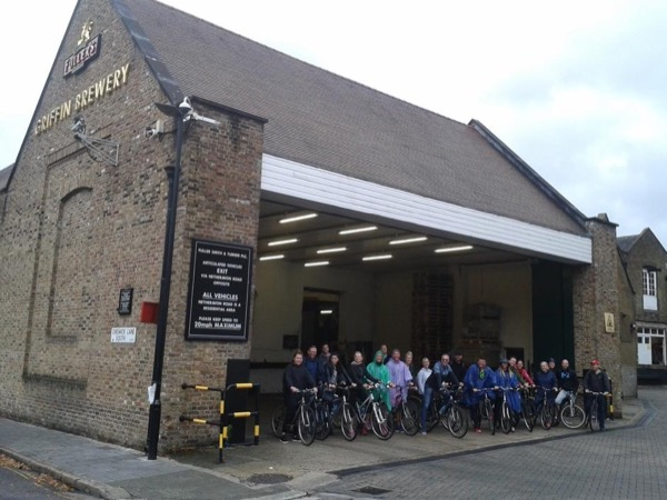 London Beer Tasting Bike Tour (Optional Kew Botanic Gardens)