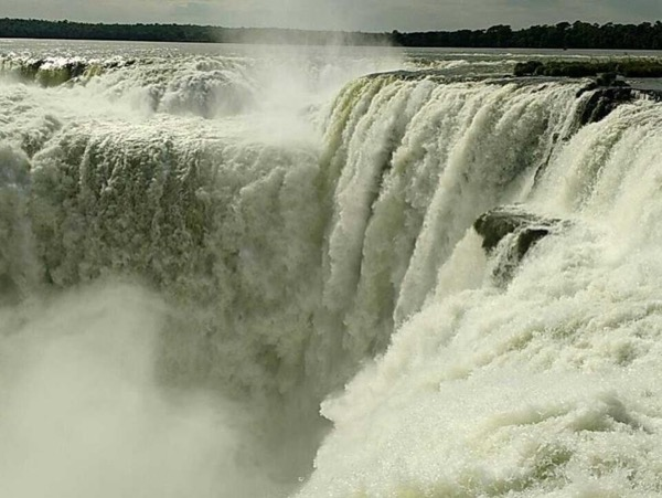 Argentine side of Iguazu Falls