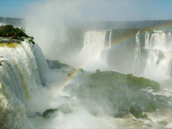 Brazilian side of Iguassu Falls