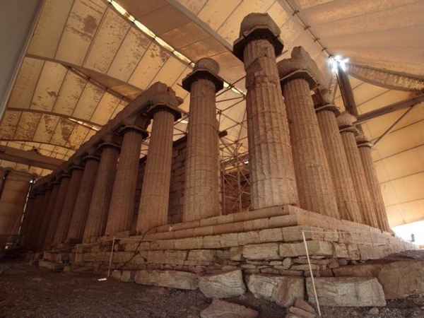 Epikourios Apollon temple - Andritsaina village - Olympia land winery
