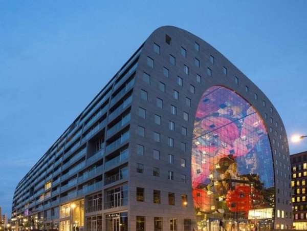 Visit the famous Market Hall Rotterdam - and more - with your own private art historian, private guide
