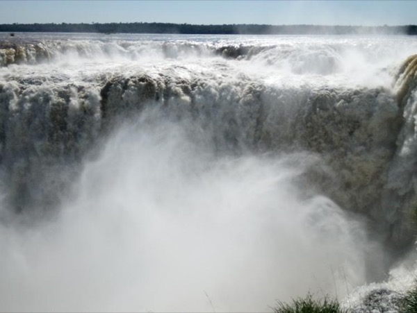 The Argentine side of the Falls Tour