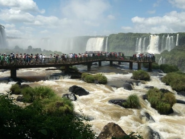 Brazilian falls, Private Tour - the more you walk the better it gets