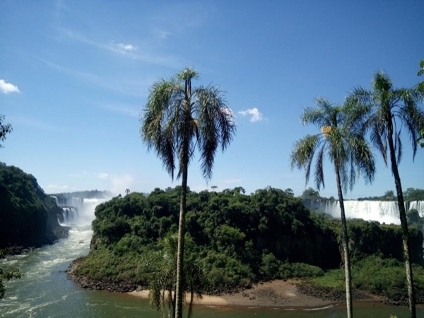 In just one day, see the Iguazu Falls from both sides.