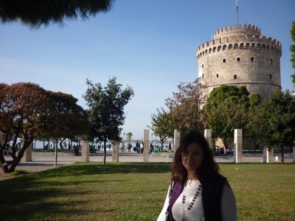 Private tour guide Eleni