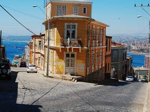 Transfer and tour of Valparaiso/ and or Santiago