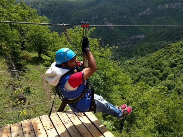 Zeep Line adventure in NorthArmenia