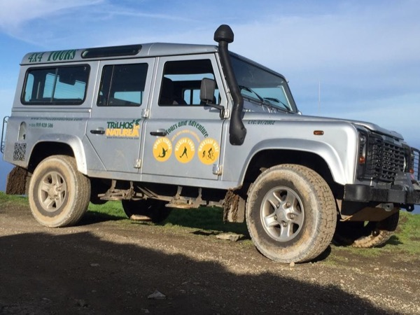 Half Day jeep tour Sete Cidades. Car up to 6 people